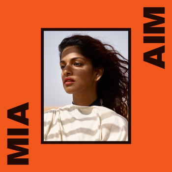 8. M.I.A - AIM  The coolest of 45yr old former refugees. Sometimes i think this is too mental and her accent is just so overly english but you can't deny how cool she is