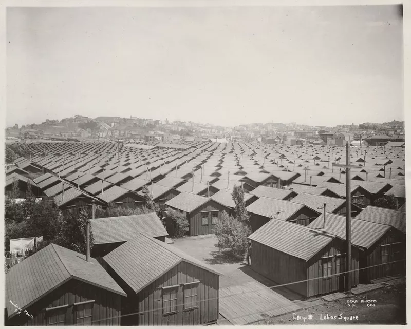 San Francisco has the know-how to respond to a crisis with pragmatic and timely solutions. Case in point, 5,000 small wooden cottages (10x14 feet to 14x18 feet) were quickly built and housed over 16 San Francisco residents in the shelter crisis following the 1906 earthquake.