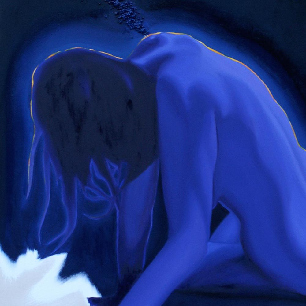 Untitled (Violet)