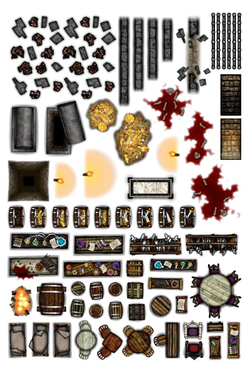 Object Sheets Dungeon Furniture