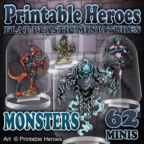 picture relating to Printable Miniatures D&d referred to as Retail store Arcknight