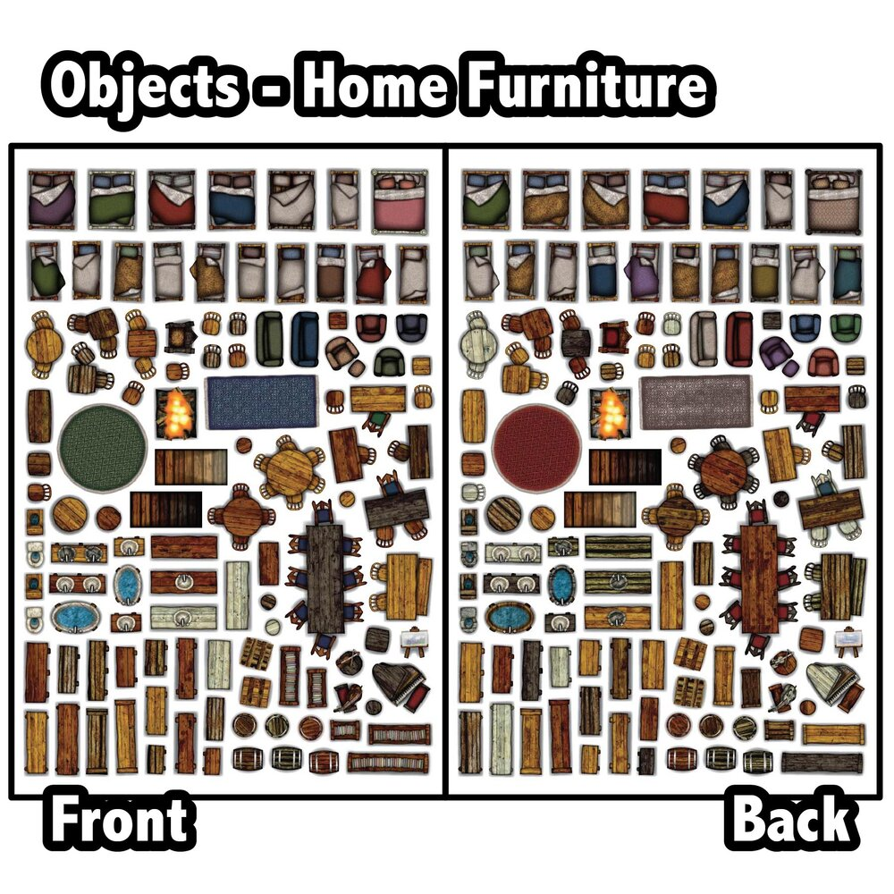 Object Sheets Home Furniture Arcknight