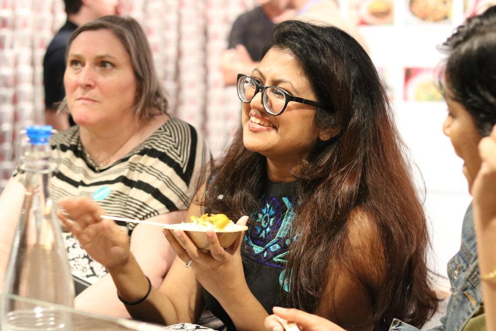 Culinary contributor Noor Shams