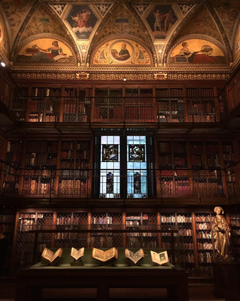 Mr. Morgan's Library at the Morgan Library & Museum, New York City.
