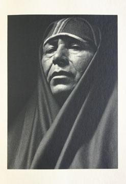 One of twelve Ansel Adams prints, Taos Pueblo.