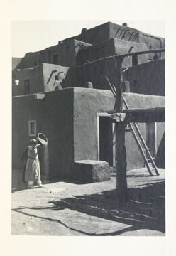 The photography in   Taos Pueblo   captures a unique moment in the development of Adams's distinct photographic style and of popular photography in America
