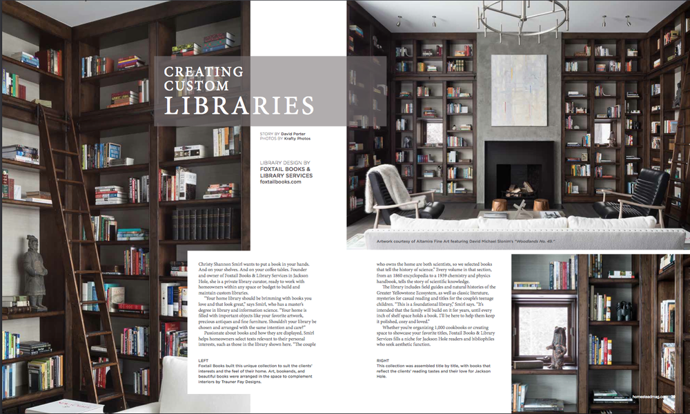 Residential Library Design