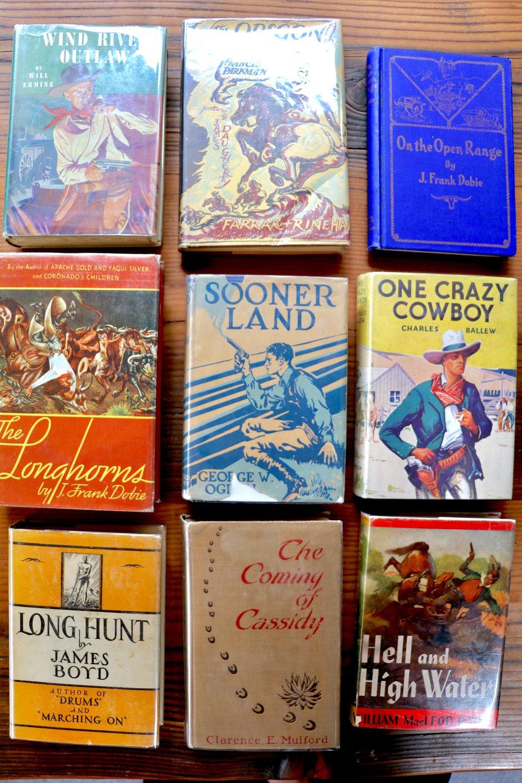 classic westerns rare books.JPG