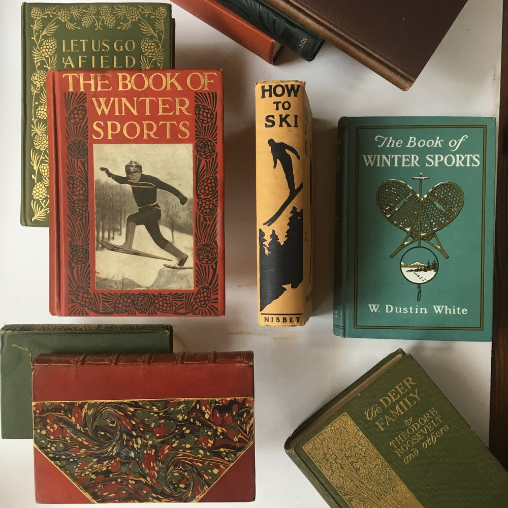 Early 20th Century Ski Books
