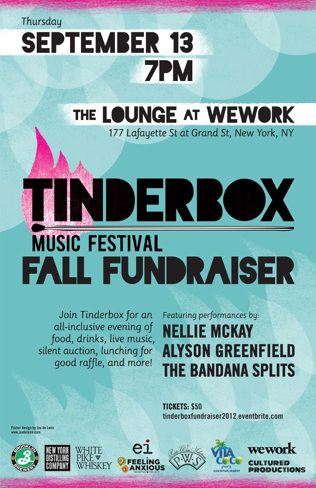 Tinderbox 2012 Fall Fundraiser