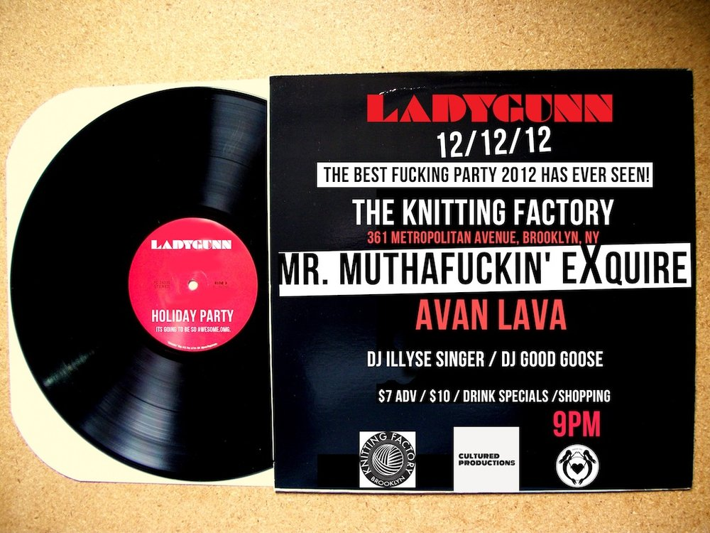 Ladygunn Magazine Holiday Party 2012