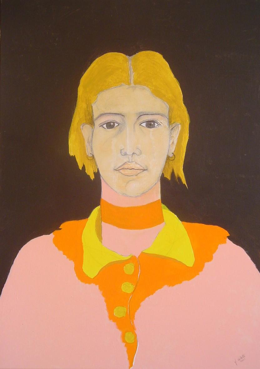 Vale   Acrilico su tela  50 x 70 cm  2001