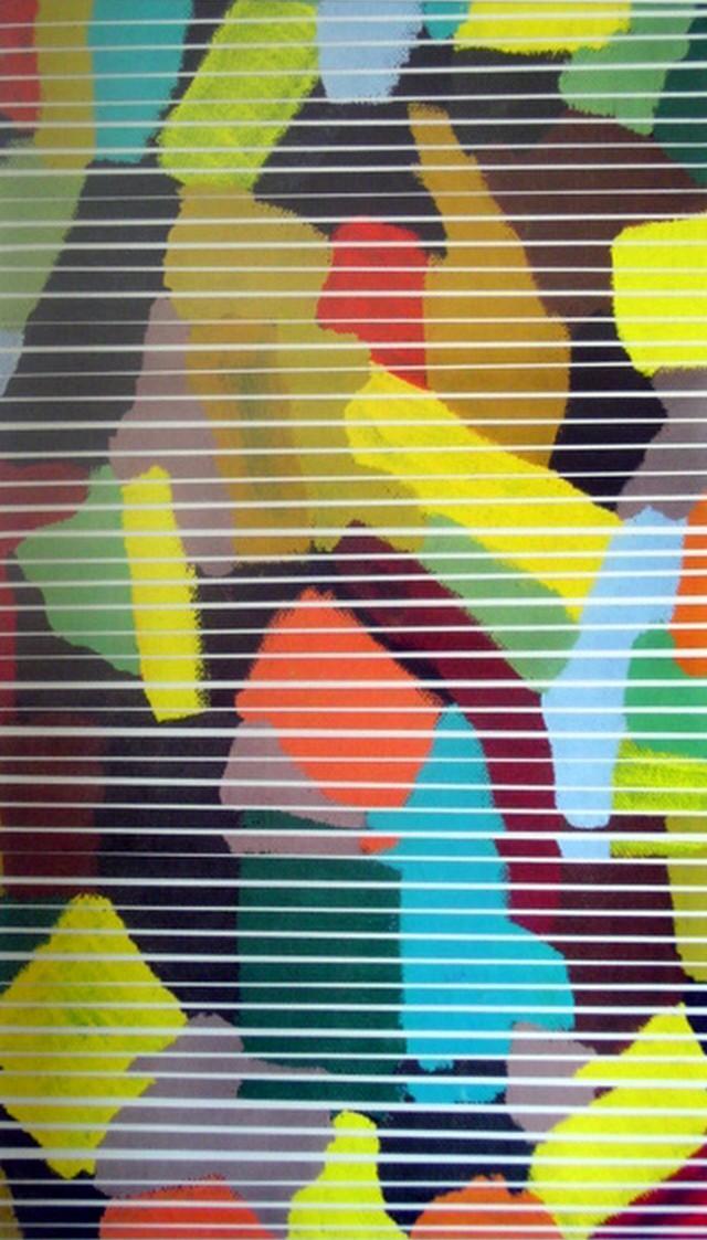 Tagli orizzontali   Collage   28.5 x 49 cm    2004
