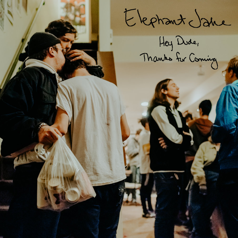 Elephant Jake - Hey Dude, Thanks For Coming Album Art