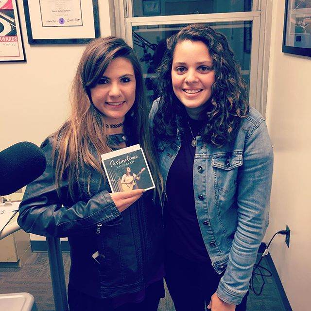 Thank you @brandilmmusic & @mymattisname for having me on your radio show tonight! 😊 🎵 @yorkcollegeradio