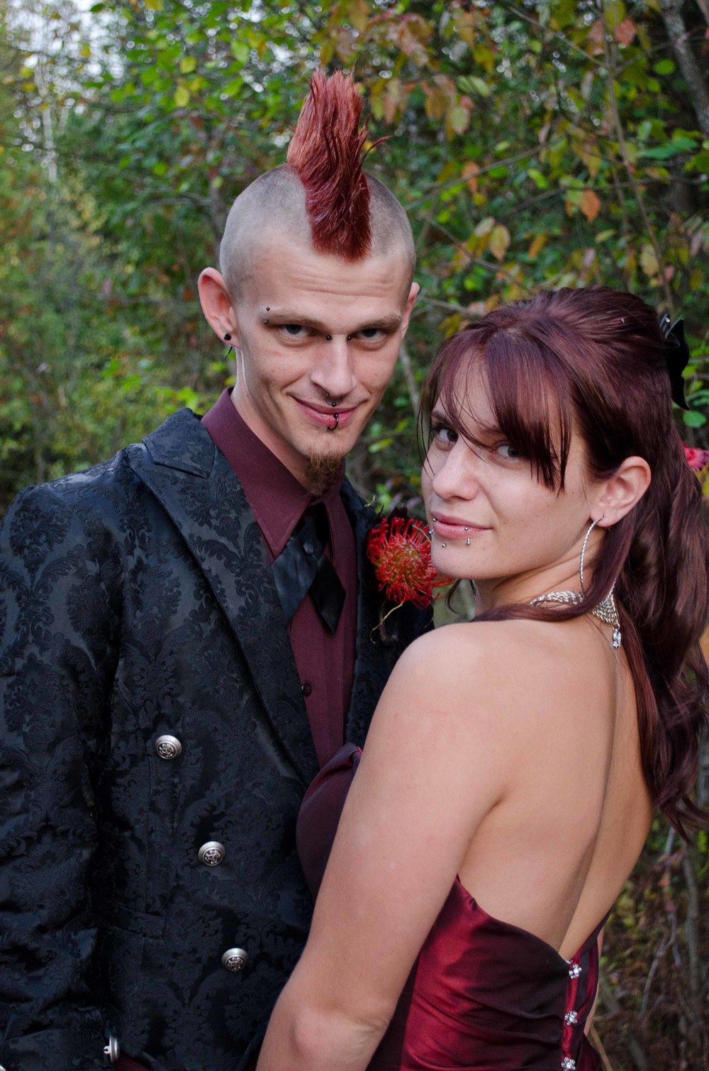 Punk Rock Wedding.