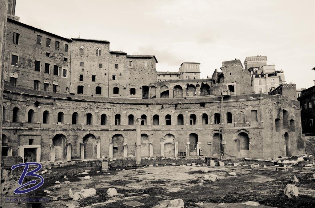 Hadrian's Market - Rome, Italy