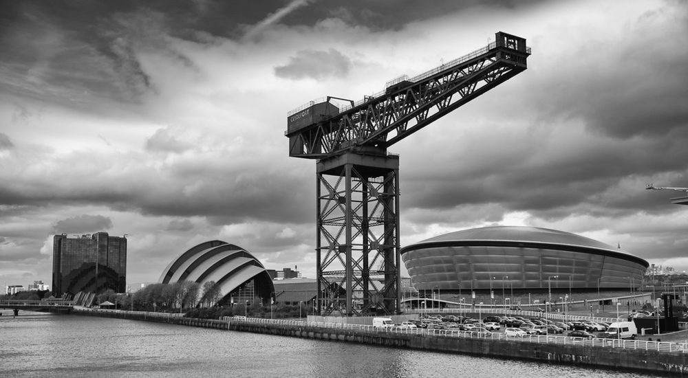 Along The River Clyde - Glasgow, Scotland