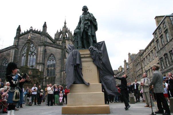 unveiling statue