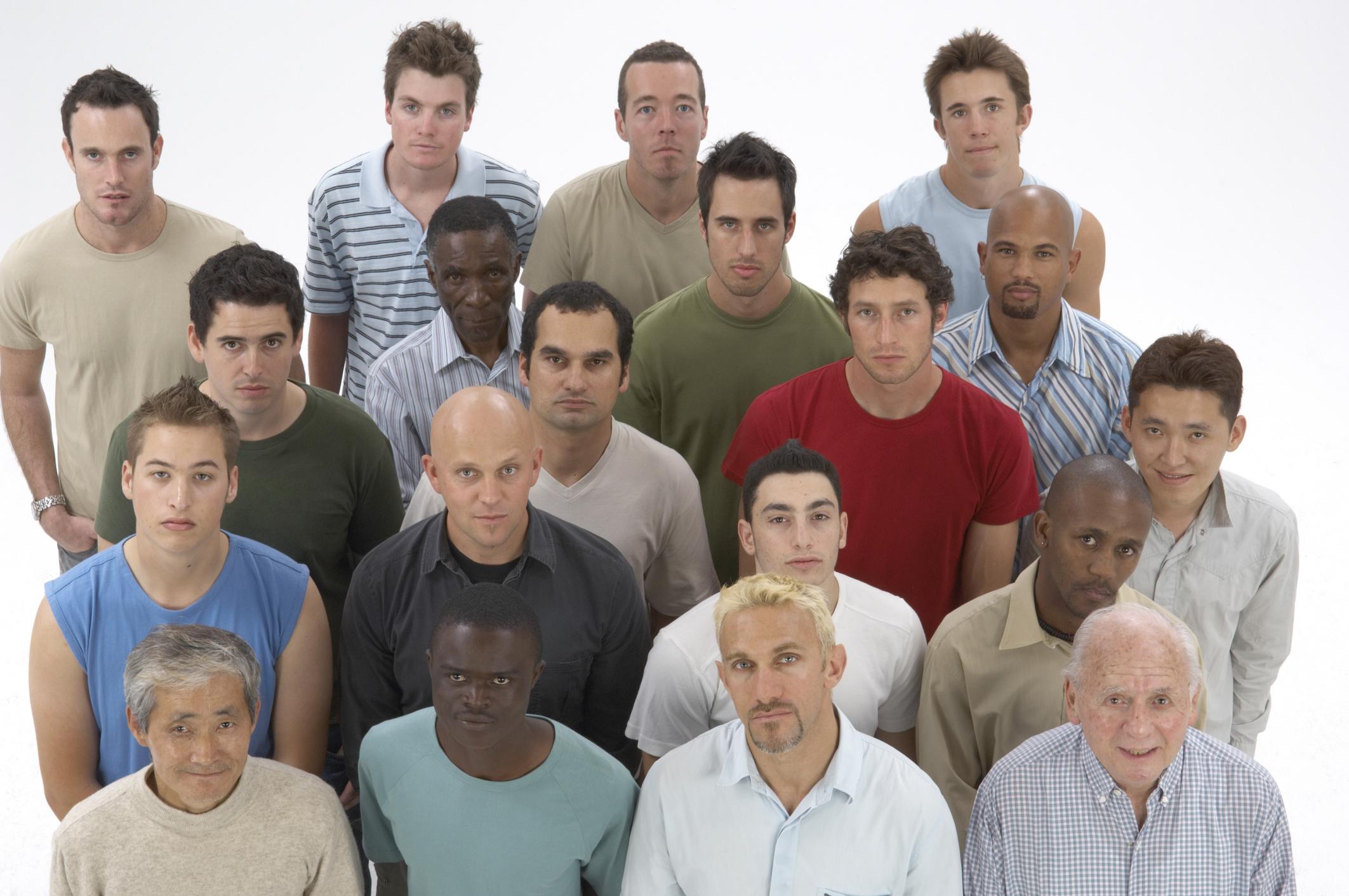 Adult man group