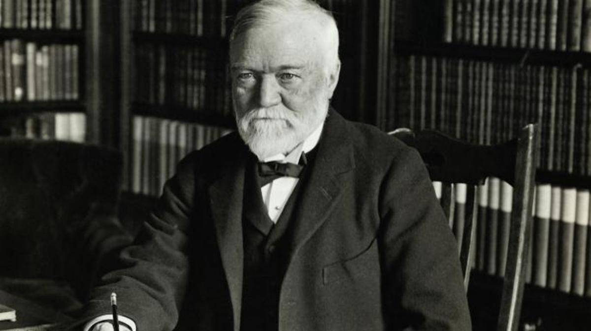 Andrew Carnegie – making philanthropy fashionable — Adam