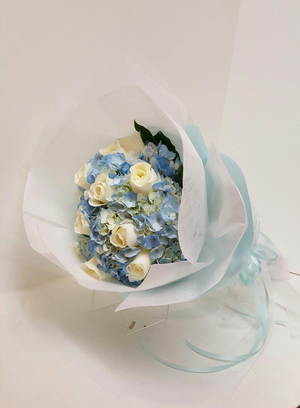 Blue & Cream (WB-6)