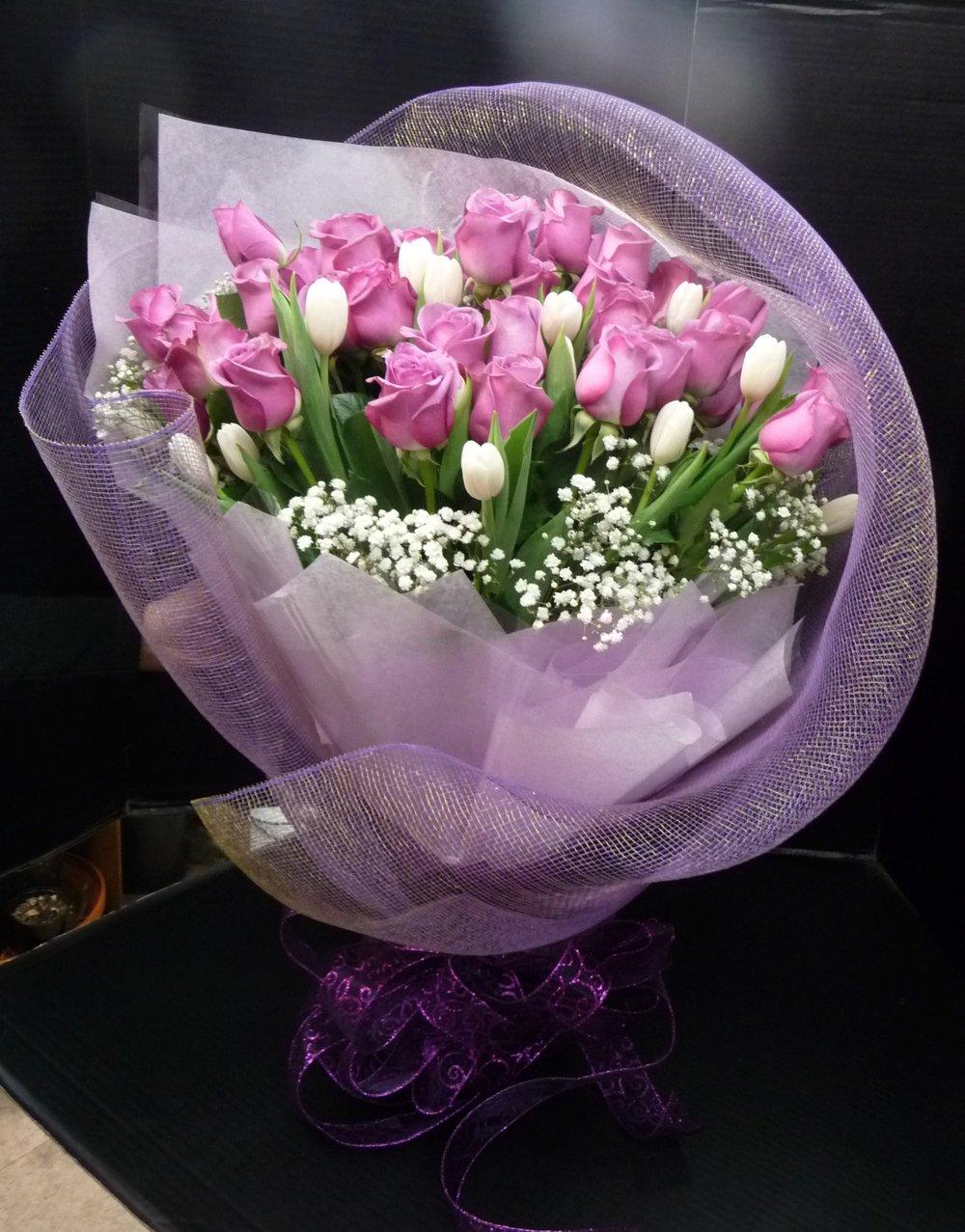 Tulips & Roses