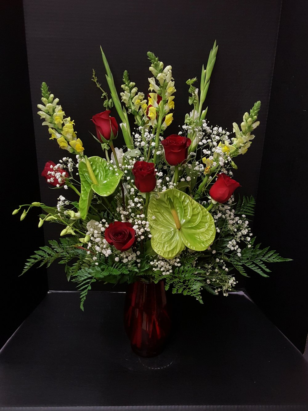 Anthuriums & Roses (TVB-63)
