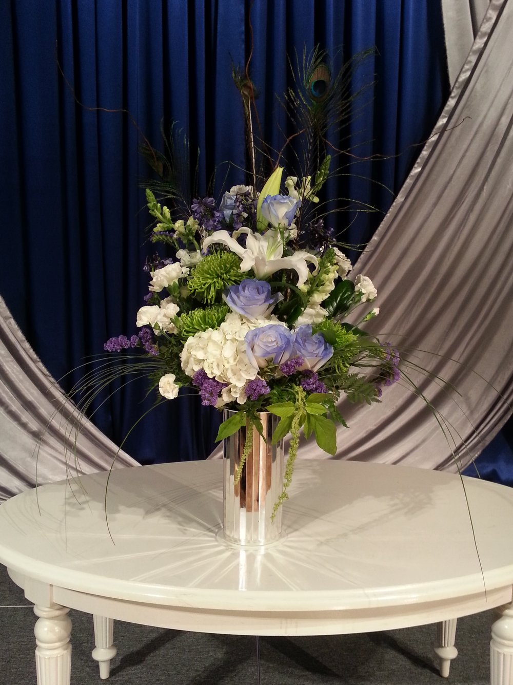 Blue Romance Bouquet (TVB-10)