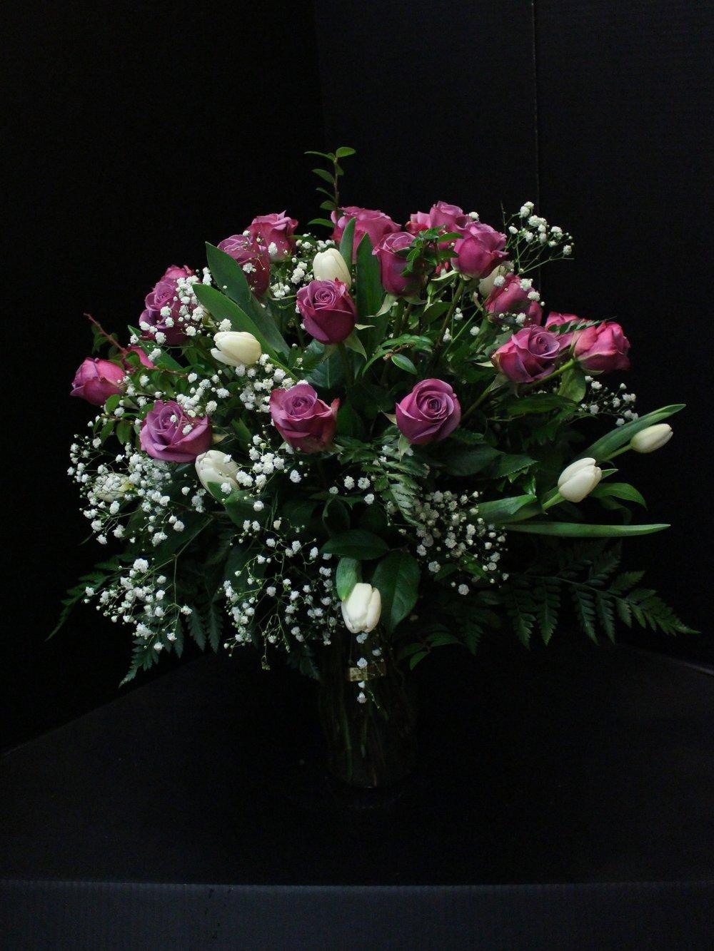 Lavender Rose Bouquet (TVB-76)