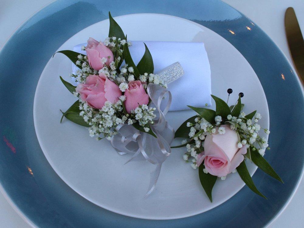 Light Pink Rose Set