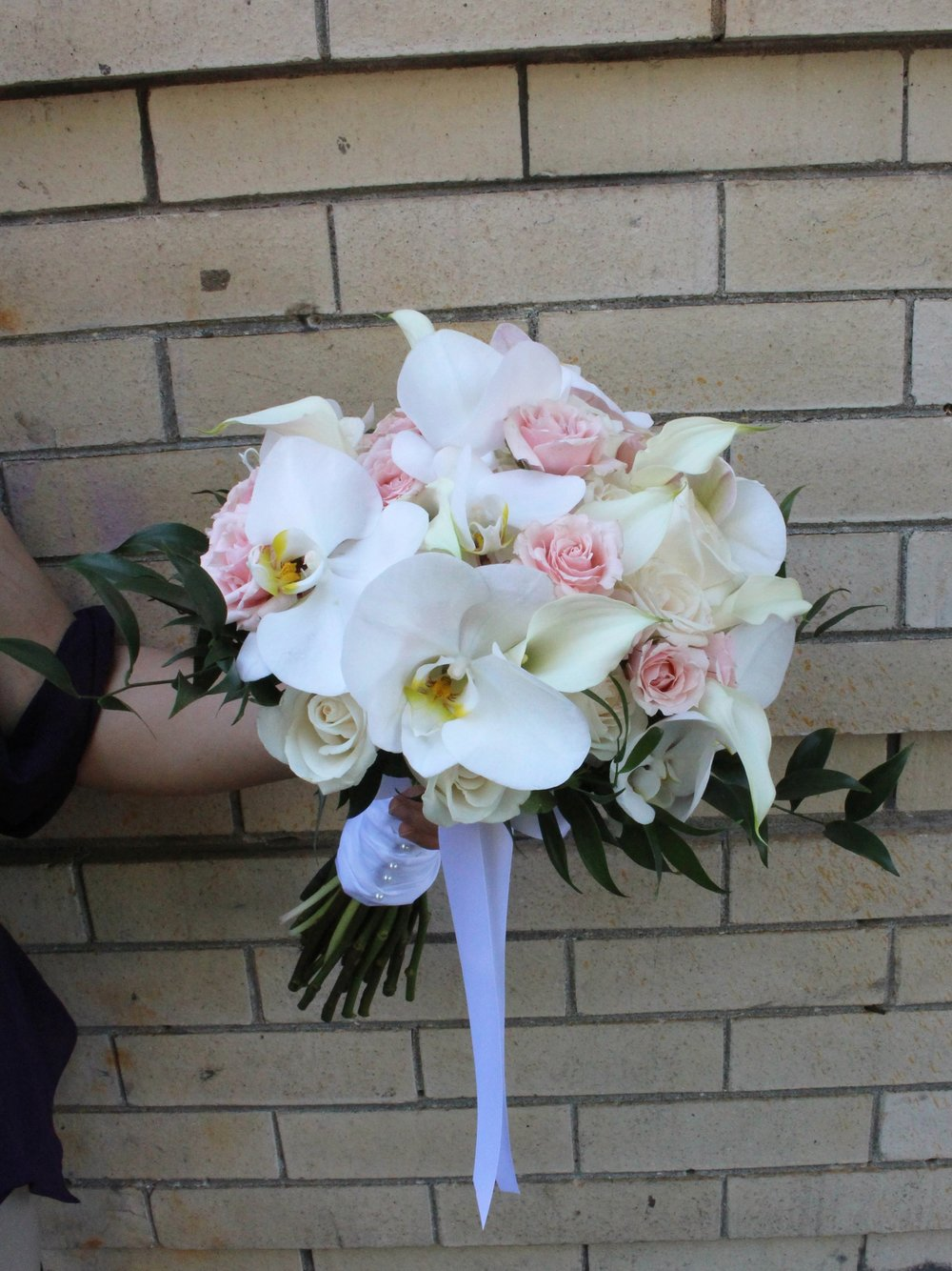 Phalaenopsis & Calla Lilies