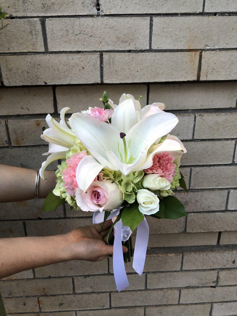 Boundless Love Bridesmaid Bouquet