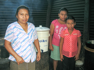 Water Filter for a Family                  $50