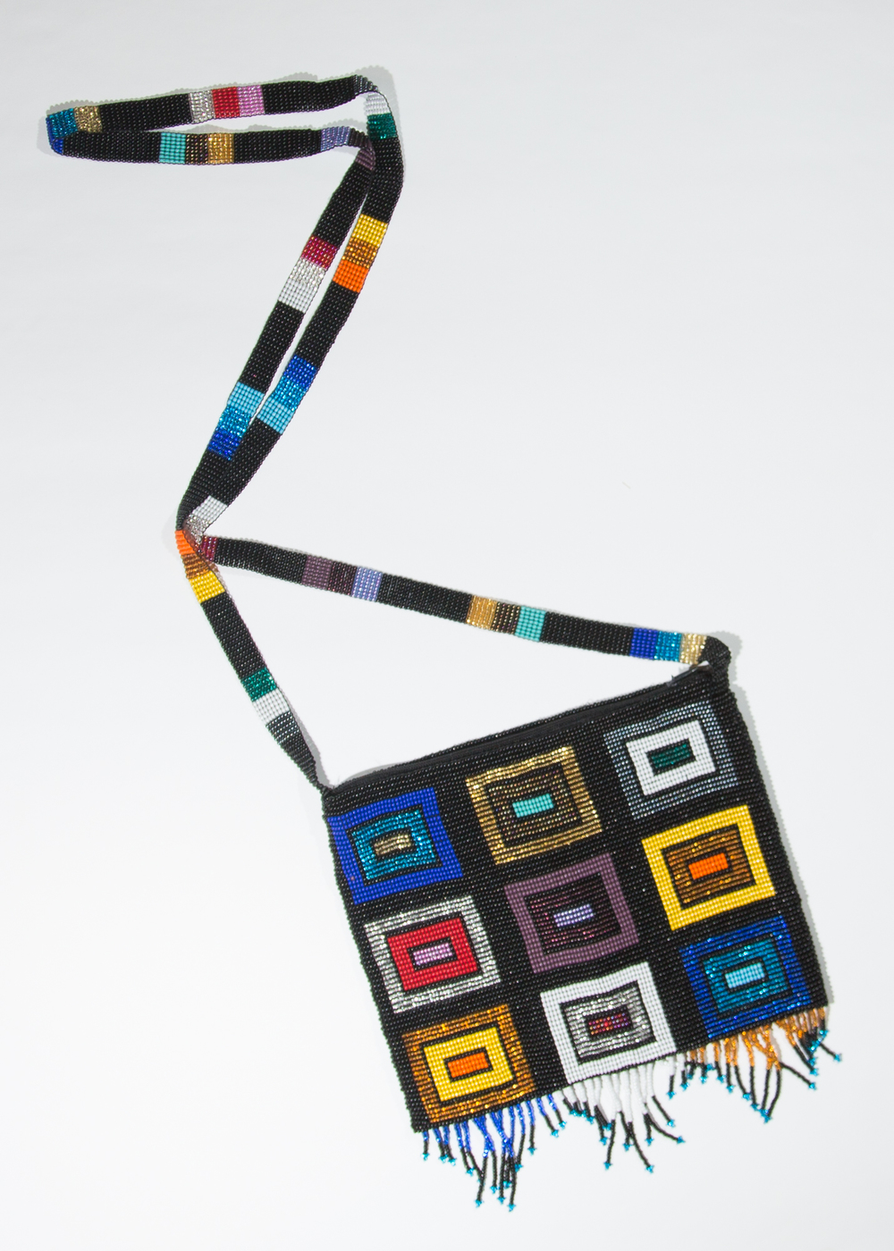Multi-Colored blocks purse   $49.00