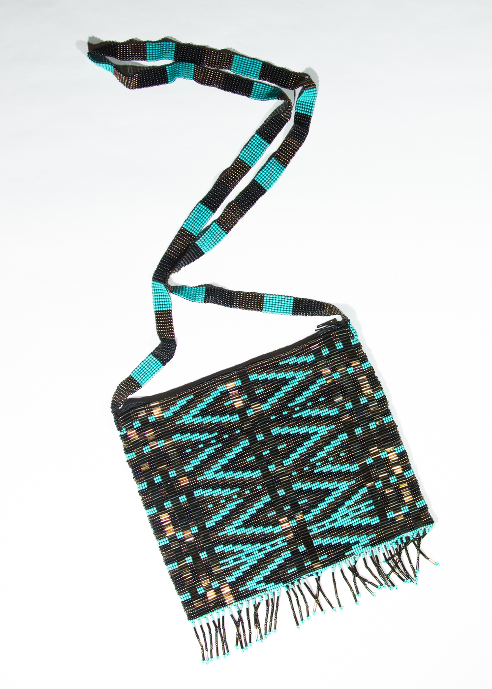 Topaz tribal purse   $49.00