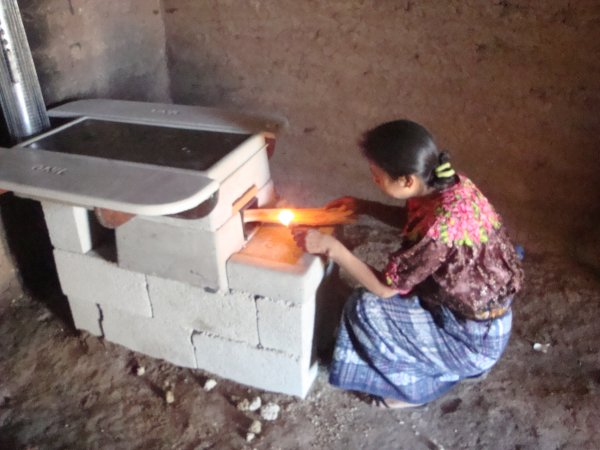 Give a family the gift of an energy efficient  stove     $110