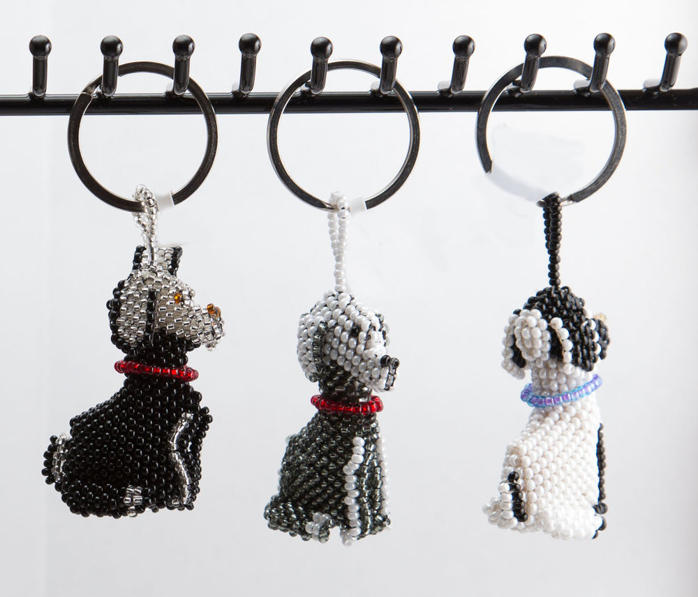 Puppy keychain  $10.00