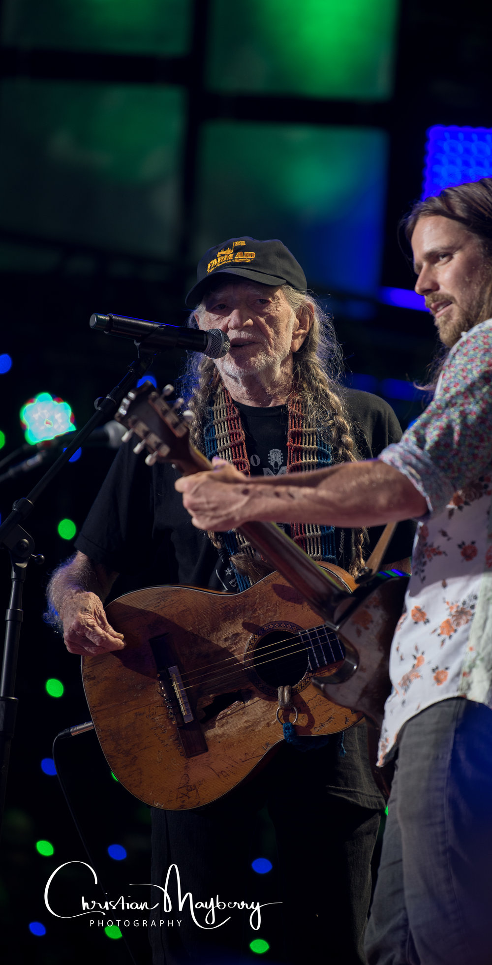 Willie Nelson & Son Lukas Nelson