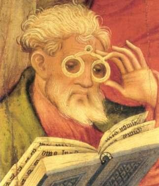 The  Glasses Apostle  by  Conrad von Soest  (1403)