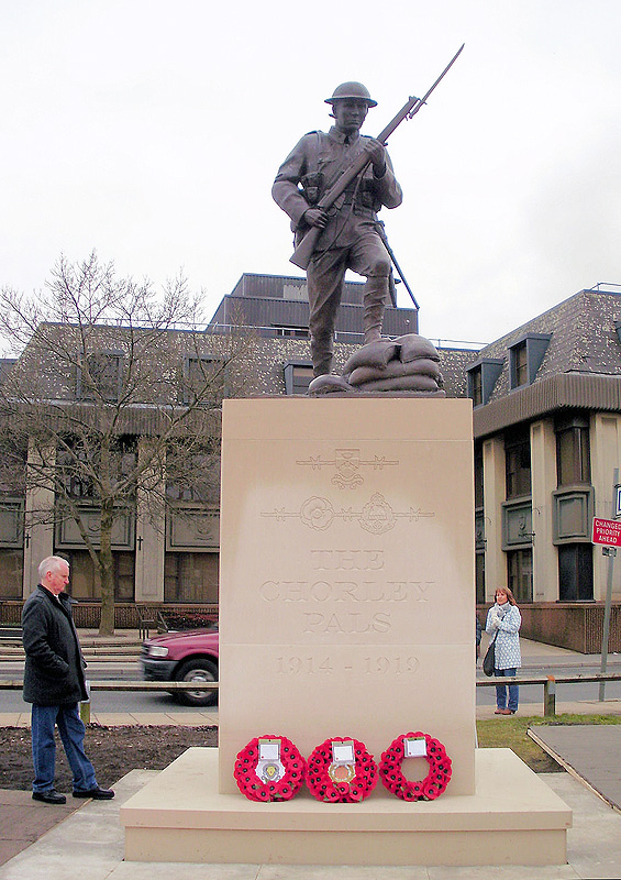 The Chorley Pals Memorial