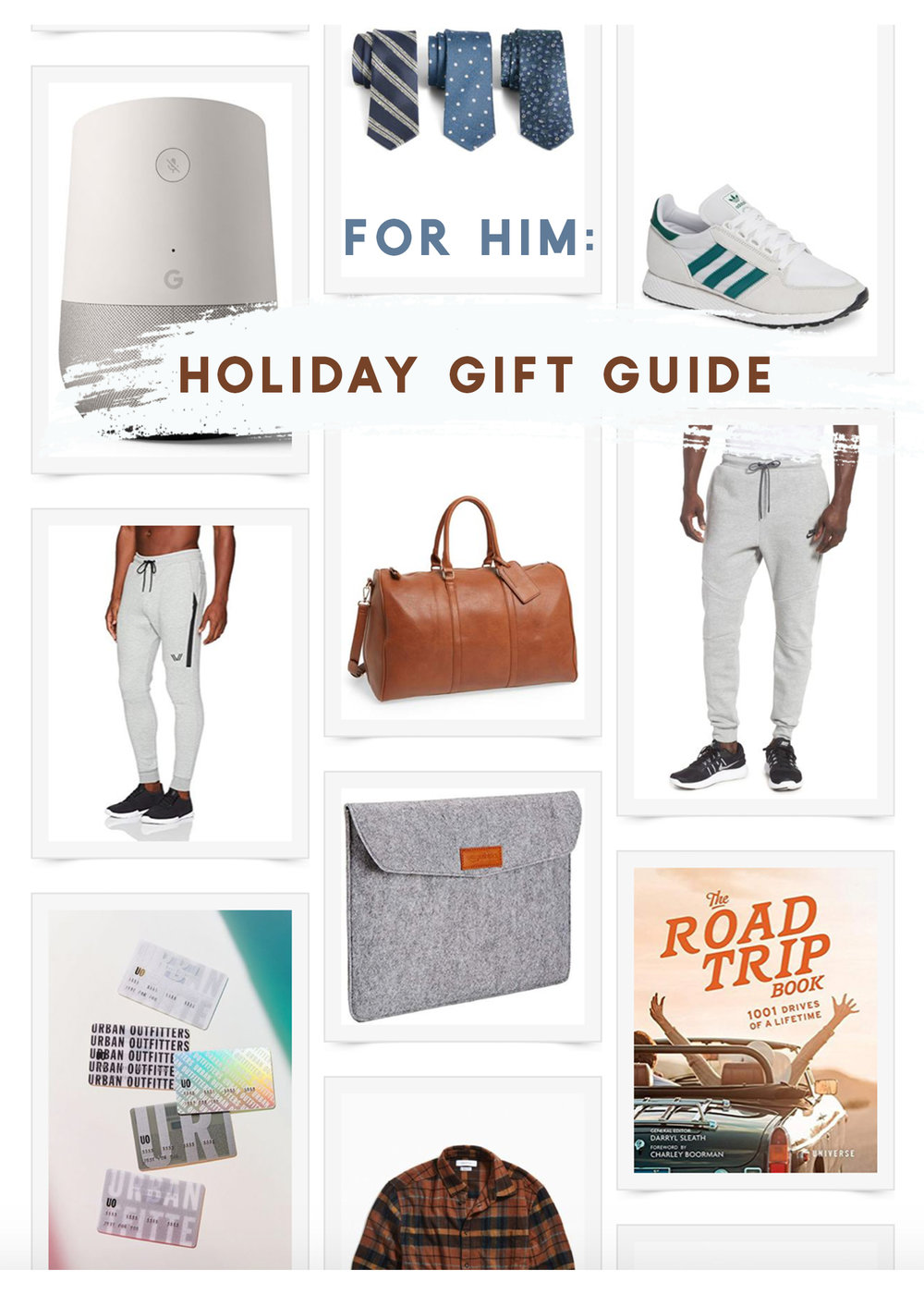 HOLIDAY GIFT GUIDE: FOR HIM -