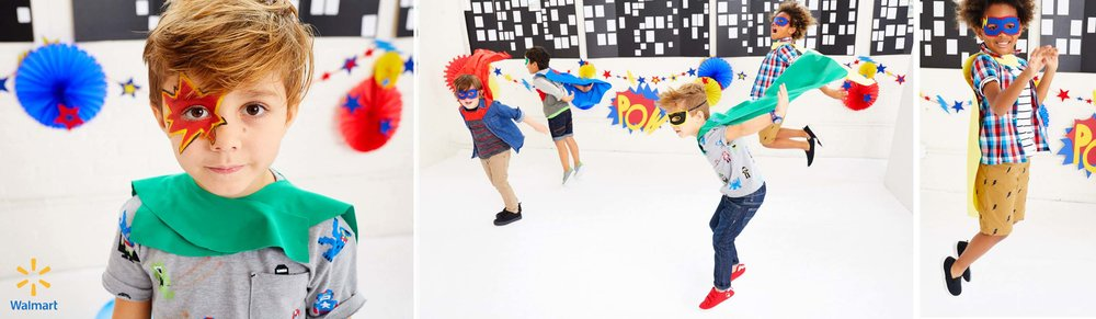 WALMART | SUPERHERO PARTY EDITORIAL