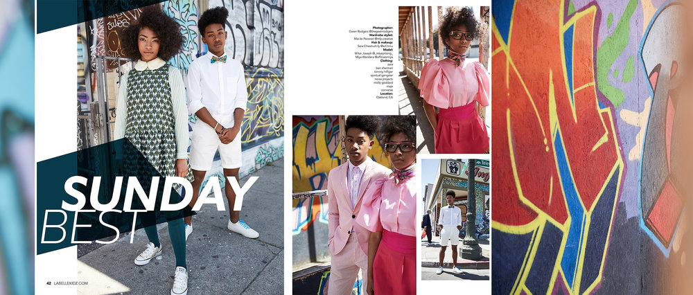 'SUNDAY BEST' | LABELLE MAGAZINE