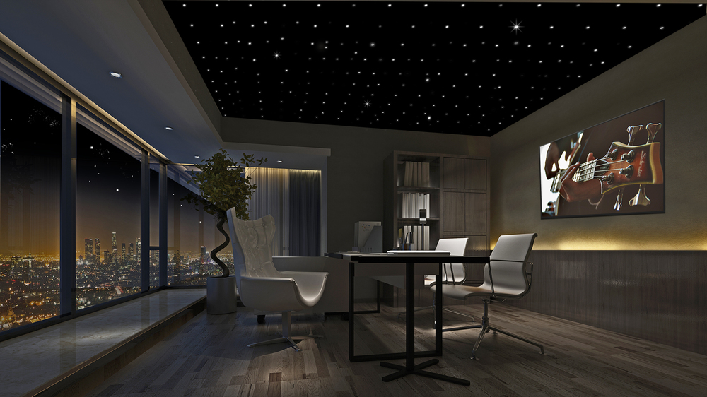 Attractive Custom Star Ceiling Panels Are Perfect For Any Application:
