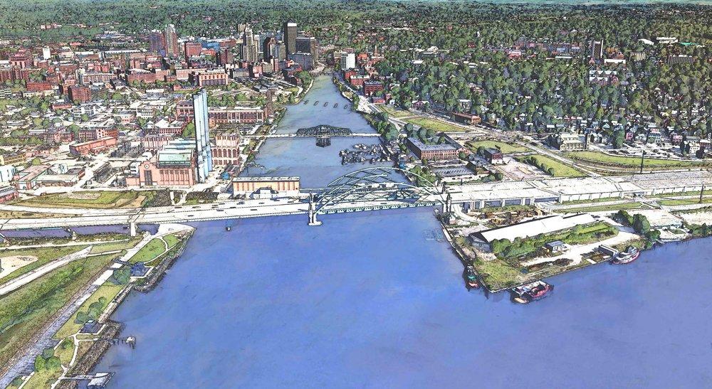Fox Point: Providence seaway gateway