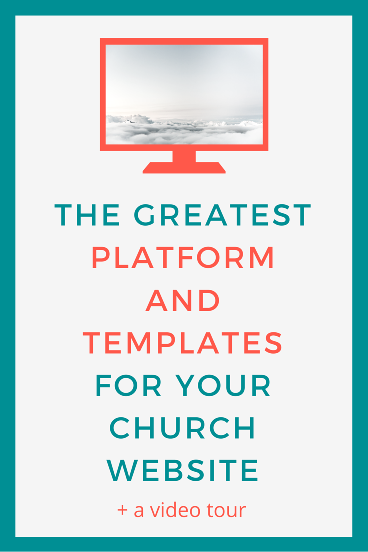 The Greatest Platform And Templates For Your Church Website Salt