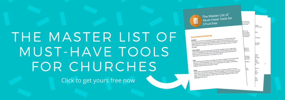 Must-have tools for churches