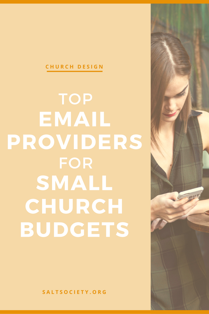 Top email providers for small church budgets