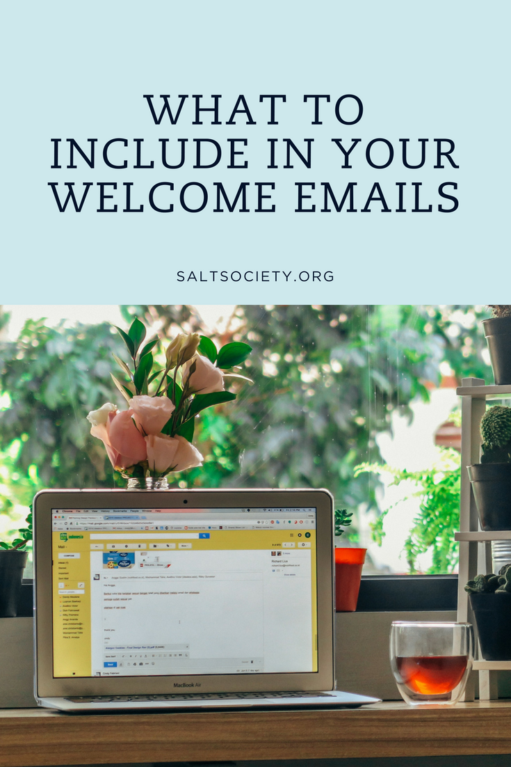 What to include in your church welcome emails